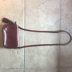 Vintage Brahmin Crossbody Bag